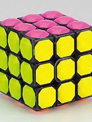 Yongjun® Cube velocidade lisa 3*3*3 Diamante / profissional Nível Cubos Mágicos Preta / Branco / Azul Plástico