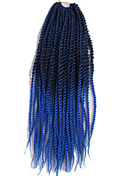 havana mambo twist crochet Braid 22inch ombre senegalese twist hair crochet jumbo ombre braid hair twist