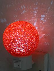 1pc führte Einrichtungsdeco Kristallkugel Nachtlicht dc Originalität