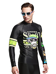 SBART Men's Diving Suits Diving Suit Compression Wetsuits 1.5 to 1.9 mm Green L / XL / XXL / XXXL Diving