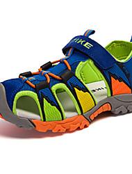 Sandálias(Amarelo / Azul Real) - deMENINO-Arrendondado / Sandálias