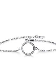 Copper Bracelet Chain Bracelets Wedding / Party 1pc