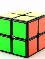 Yongjun® Cube velocidade lisa 2*2*2 profissional Nível Cubos Mágicos Preta / Branco / Rosa Plástico