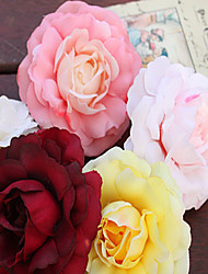 6Piece/Set Silk Wedding Decorations- Artificial Flower for DIY Unique Wedding Décor (8cm*8cm)