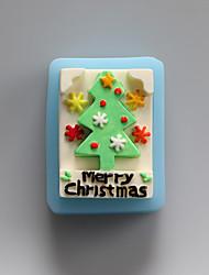 веселые рождественские шоколадные силиконовые формы, формы торта, мыло формы, отделочные инструменты Формы для выпечки