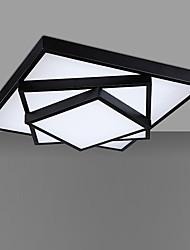 Montage de Flujo ,  Moderno/Contemporáneo Pintura Característica for Mini Estilo LED MetalSala de estar Dormitorio Baño Cocina Comedor