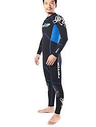 Autres Unisexe Combinaisons Tenue de plongée Compression Costumes humides 2.5 à 2.9 mm Bleu XS / S / M / L / XL / XXL Plongée