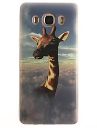 Für Samsung Galaxy Hülle IMD Hülle Rückseitenabdeckung Hülle Tier Weich TPU SamsungJ7 (2016) / J5 (2016) / J5 / J1 (2016) / J1 Ace / J1 /