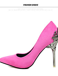 Women's Shoes leather high  Heels Pointed Toe Heels Wedding Party & Evening Dress Stiletto Heel women pump