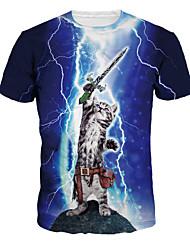 Inspiriert von Cosplay Cosplay Anime Cosplay Kostüme Cosplay-T-Shirt Druck Kurzarm T-shirt Für Unisex