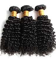 3Pcs Brazilian Virgin Hair Kinky Curl Hair Unprocessed Human Hair Brazilian Kinky Curl Virgin Hair