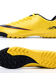 Men's Shoes Synthetic Athletic Shoes Soccer Laceing Training Football Shoes Black / Blue / Gold / Orange
