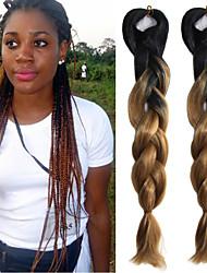#30 Вязаные Огромный Наращивание волос 24 Kanekalon 1 нитка 100g грамм косы волос