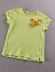 Girl's Casual/Daily Solid Blouse,Cotton Fall Blue / Green / White