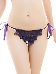 Women's Sexy Lace Straps G-strings & Thongs Panties Underwear T-back Women's Lingerie