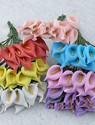 Simple Style Plastic Artificial  Flower for Home Decoration(Random Color)