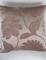 Satin Jacquard Cushion Cover-Pink