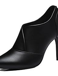 Chaussures synthétique de bureau talons printemps / automne / hiver des femmes&carrière / partie&stiletto soir talon fendu joint