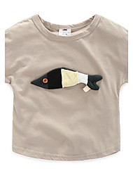 Fish T-Shirt Baby Boys And Girls Children'S Clothing New Children'S Primer Shirt Influx Of Goods