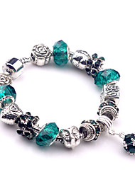 Strand Bracelets 1pc,Silver Bracelet Fashionable Round 514 Alloy Jewellery