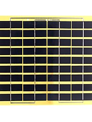 5W 18V PET Laminated Polycrystalline Silicon Solar Panel Solar Cell for DIY (SWB5018)