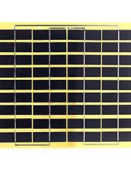 5w 18v любимчика ламинированная поликристаллического кремния панели солнечных батарей солнечной для поделок (swb5018)