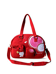 Flower Princess® Women Canvas Shoulder Bag Red-A201206DNB