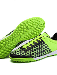 Men's Shoes Synthetic Athletic Shoes Soccer Lacing Training Soccer Shoes Blue / Green / Red