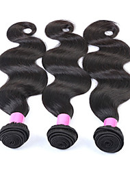 Peruvian Virgin Hair Products Body Wave 6A Grade Human Hair Weaves Peruvian Hair Weft Bundles 1pcs/ Lot