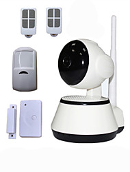 IP-Kamera - Day Night/Bewegungserkennung/Dual Stream/Remote Access/IR-cut/Wi-Fi Protected Setup/Plug-and-Play - Innen