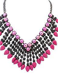 Big Drops Sector Trend Exaggerated Necklace