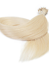 25G 16inch Straight Nano Ring Beads Loop Hair Extension