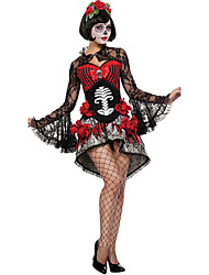 Adult Vampire Costume for Women Skull Zombies Costume Halloween Costumes for Women Carnival Costume Fancy Dress