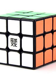 Yongjun® Smooth Speed Cube 3*3*3 Flourescent / Speed Magic Cube Black / White Plastic