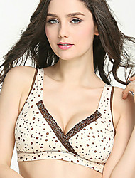 Maternity Cotton / Spandex Full Coverage Bras,Nursing