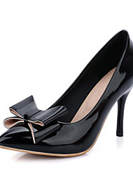 Women's Shoes Leatherette Spring / Summer / Fall Heels Heels Office & Career / Dress