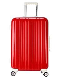 Unisex Metal Outdoor Luggage White / Pink / Yellow / Orange / Red / Black / Fuchsia