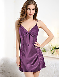 Women Lace Lingerie Nightwear,Polyester