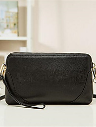 Women PU Formal Shoulder Bag White / Black