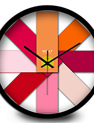 Fashion Pink Rose Quartz Wall Clock