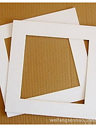 2pcs 9.5*9.5cm picture Frames Modern/Contemporary Rectangular,Paper 2pcs Small