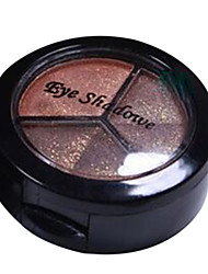 3 Colors EyeShadow Nude Comestic Long Lasting Beauty Makeup
