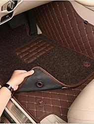 полный объемного звука автомобильные коврики скольжения гибкость света долговечность носить водонепроницаемую защиту окружающей среды