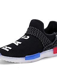Garçon-Décontracté-Noir / BlancConfort-Sneakers-Tulle