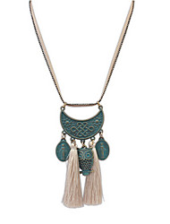 Bronze Tassel Owl Necklace Accessories