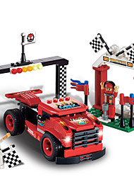Building Blocks For Gift  Building Blocks Model & Building Toy Car Plastic Above 6 Red Toys