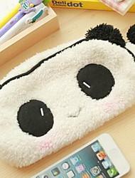 caso bonito estereoscópica lápis panda