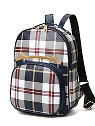 Women PU Sports / Casual / Outdoor / Shopping Backpack Purple / Blue / Red