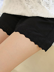 Maternity Simple Shorts Pants,Cotton / Polyester Inelastic