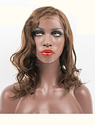 "10""-26"" Brazilian Virgin Hair  100% Human Hair Lace Wigs Wavy hair Lace Wigs"